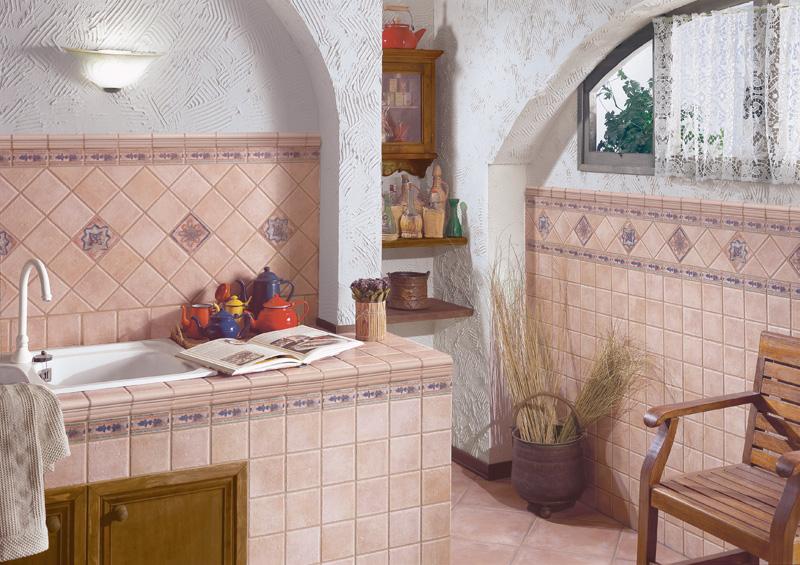 Ambientazioni valencia 10x10 serie prodotti saime - Piastrelle cucina 10x10 ...
