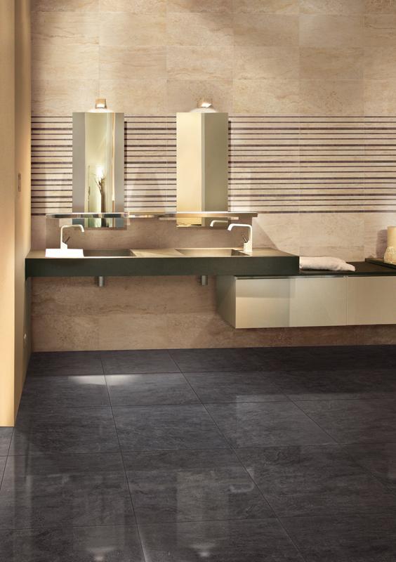 Ambientazioni maxima serie prodotti saime ceramiche for Piastrelle finto marmo