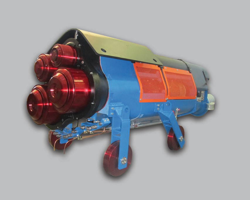 New Centrifuge With In Line Motors Centrifuge With In Line Motors