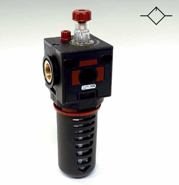 Indicatore di livello dell 39 olio inserito nel lubrificatore - Indicatore di portata ...